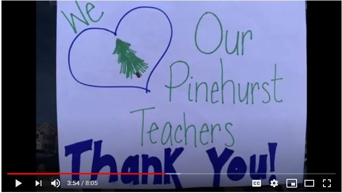 We Love Our Pinehurst Teachers! Thank You!