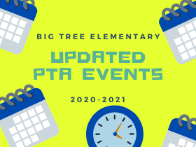 Updated PTA events