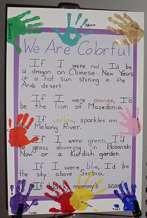 We Are Colorful Poem