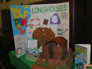 Longhouse Poster and Model