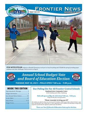 Frontier Budget Newsletter 2021